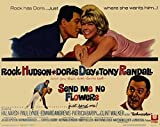 Send Me No Flowers POSTER Movie (1964) Style A 11 x 14 Inches - 28cm x 36cm (Rock Hudson)(Doris Day)(Tony Randall)(Paul Lynde)