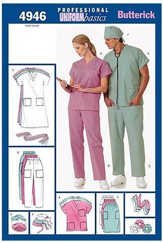 XS-S-M Dress, Belt, Top, Skirt, Pants, Hat /& Ponytail Holder, Size XSM BUTTERICK PATTERNS B4946 Unisex Uniforms