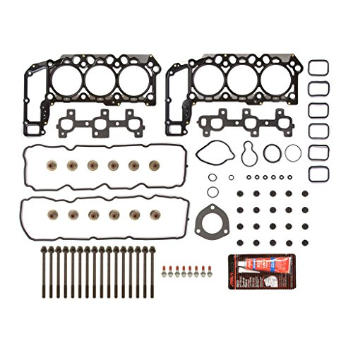 (Evergreen HSHB8-30301 Cylinder Head Gasket Set Head Bolt)