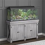 Flipper Wildwood 55 Gallon Aquarium Stand, Rustic