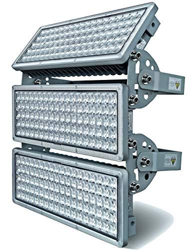 GDIDEA 300W LED Flood Light Outdoor, 6500K White Light,30000lm Super Bright Stadium Light,IP67 Waterproof Floodlights for Stadium, Garden,Backyard, Garage,Playground