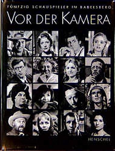 Vor der Kamera: Fünfzig Schauspieler in Babelsberg