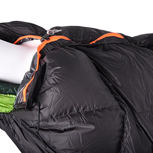 MagiDeal Outdoor Camping Winter Down Under Quilt Sleeping Bag For Hammock Backpacking by MagiDeal (Image #3)