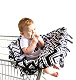 Baby Shopping Cart Cover by BABEL'E (Chevron)