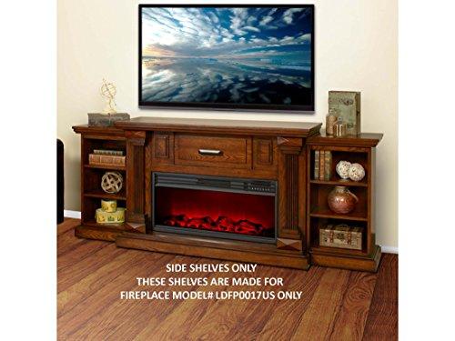 Amazon.com: Lifesmart Lifelux FP0017-AC1 Side Shelves for Media ...