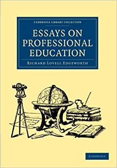 Book Essays on Professional Education (Cambridge Library Collection - Education)