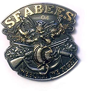 Seabees We Build We Fight US Navy Coin by Vision Strike Coins