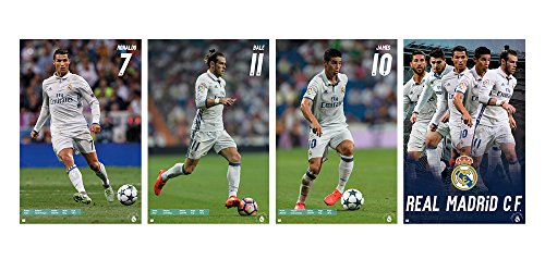 Trends International Wall Poster Real Madrid Collector's Bundle