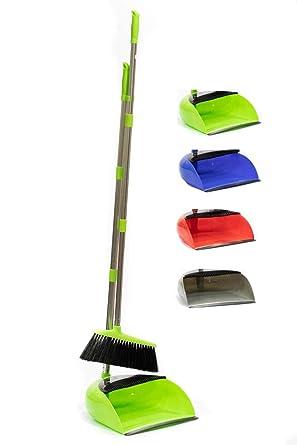 Long Handled Dustpan /& Brush Long Handle Dust Pan /& Broom Sweeping Set