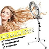 hooded salon hair dryers - Muses Poem Standing Professional Hair Salon Adjustable Conditioning Hooded Box Dryer with Detachable Wheels Standing Professional Hair Salon Adjustable Conditioning Hooded Box Dryer (White)