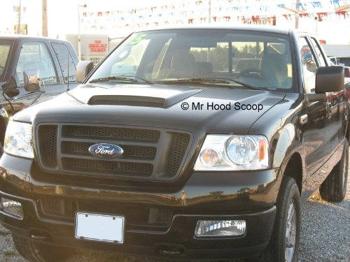 Xtreme Autosport 2004-2008 Hood Scoop for Ford F150 by MrHoodScoop UNPAINTED HS009