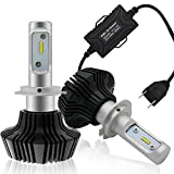 Image of Rigidhorse H7 80W 8000lm 6500K CREE LED Headlight Bulb Conversion Kit, Cool White