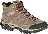 Merrell Women's Moab 2 Mid Waterproof Hiking Boot, Bungee Cord, 8 M US