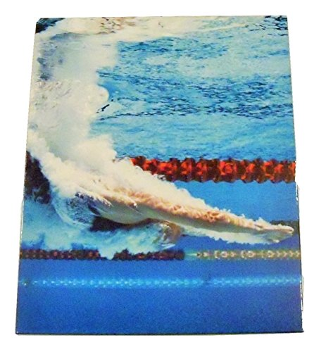 Staples Two Pocket Paper Folder ~ Swimming (First Off the - Basketball Sport Is Summer A Olympic