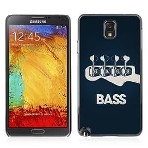 YOYOSHOP [Bass Guitar ] Samsung Galaxy Note 3 Case Kimberly Kurzendoerfer