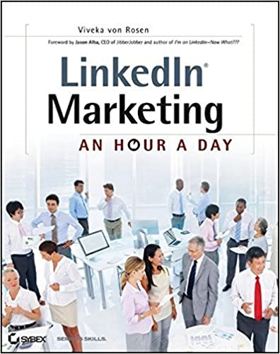 Book LinkedIn Marketing: An Hour a Day by Viveka von Rosen (2012-09-25)