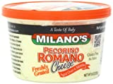 Milano's Romano Cheese Deli Cups, Grated Pecorino, 8 Ounce