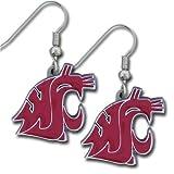 NCAA Washington State Cougars Dangle Earrings