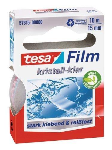 tesa Film, kristall-klar, 15 mm x 10 m 57315-00000-01 704845