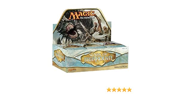 Magic the Gathering Caja 36 sobres Inglés Scars of Mirrodin ...