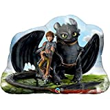 "Hiccup & Toothless How to Train a Dragon 33"" Mylar Balloon"