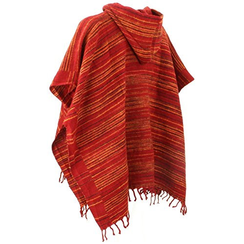 Hill Queen - Poncho - para mujer Light reds
