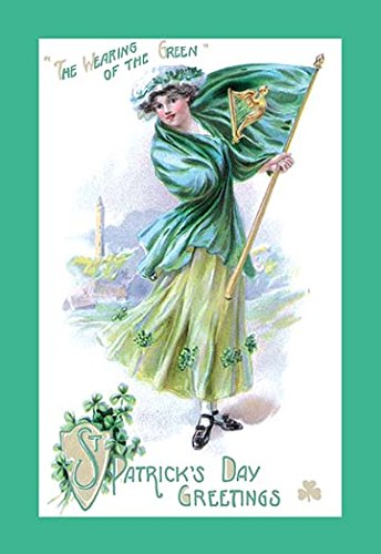 Buyenlarge St. Patrick's Day Green - rish holiday wall art