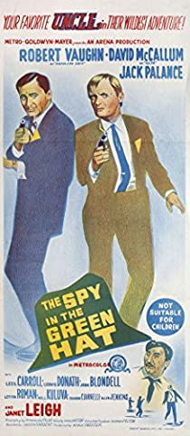 The Spy in the Green Hat 1967 Australian Daybill Poster (Flick Hat)