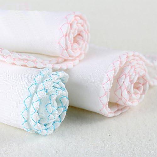 Xdodnev New Baby Cotton Feeding Towel Infants Handkerchief Gauze Nursing Clean Towel