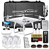 DJI Phantom 4 PRO+ (Plus) Executive Kit w/ Custom Wheeled Case, 3 Batteries + Triple Charger Hub, Filters, 64GB Card & More