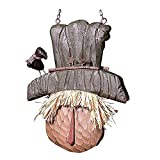 K&K Interiors Scarecrow Hanging Decorative Autumn Replacement Plaque for Arrow Holder