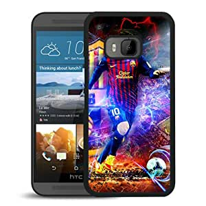Personalized Lionel Messi 3 Black Special Custom Made HTC ONE M9 Cover Case