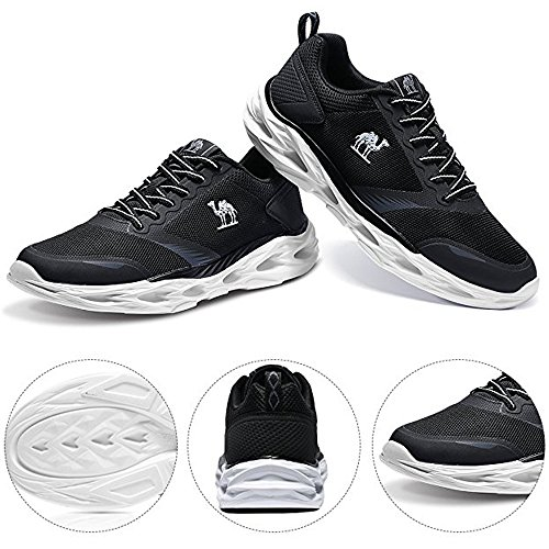 De Gym Sport Camel Mode Antichoc Trail Noir Taille Trainers Sneakers Léger Course Chaussures Athlétique Marche Plus Hommes Pour La OOw4pI