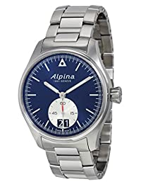 Alpina Startimer Pilot Small Seconds Automatic Navy Blue Dial Stainless Steel Mens Watch AL-280NS4S6B