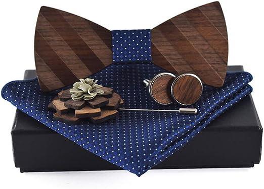 MEIKONG - Broche con Lazo de Mariposa para Hombre, diseño Cuadrado ...