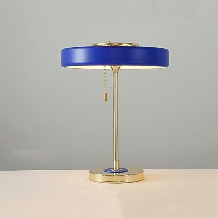 yu chuang xin Lámpara de mesa moderna del metal, lámpara de ...