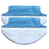 2-pack Wet & Dry Microfiber Mop Pad Mopping Cloth For Ecovacs...