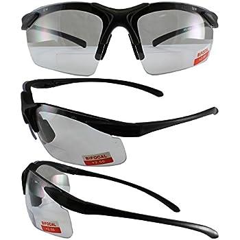 Apex Bifocal Safety Glasses UV400 Magnifying Reading