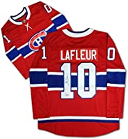 Guy Lafleur Autographed Red Montreal Jersey