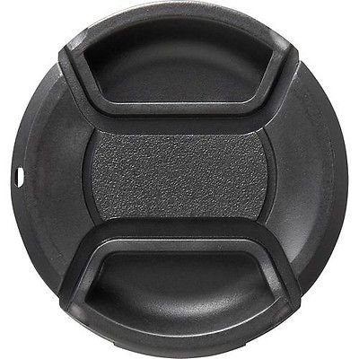 SnapOn Lens Cap For Canon GL2 GL1 Vixia HF S20 S21 S200 S10 S11 S100 G20 G10 S30 (58mm compatible)