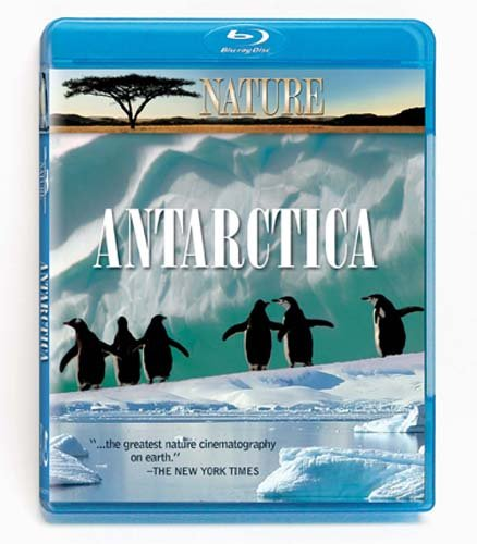 Nature: Under Antarctic Ice/Encountering Sea Monsters [Blu-ray]