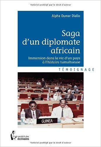 Livre Saga d'un diplomate africain pdf