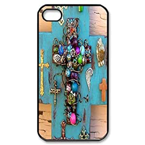 Hard Shell Case Of Cross Customized Bumper Plastic case For Iphone 4/4s