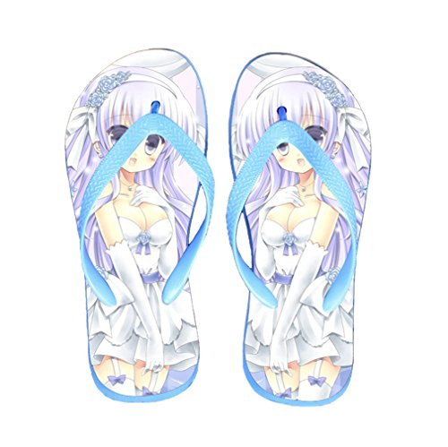 Bromeo Sword Art Online Anime Unisex Flip Flops Chanclas 128