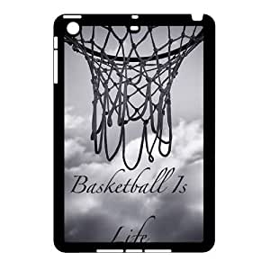 basketball Design Unique Customized Hard Case Cover for iPad Mini, basketball iPad Mini Cover Case