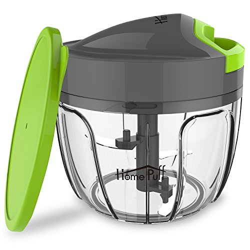 Home Puff 3 Blades Vegetable Chopper, Cutter with Storage Lid (650ml) Price & Reviews