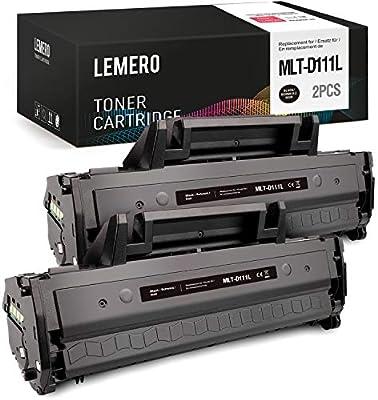 LEMERO MLT-D111S MLT-D111L Cartucho de Tóner Compatible para ...