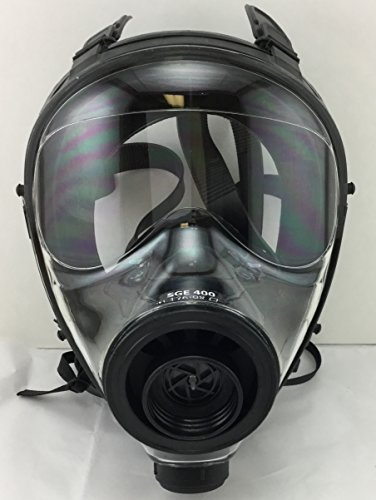 Israeli & NATO Military SGE 400 Gas Mask Respirator Made in 2017 by DISKIN (Image #1)