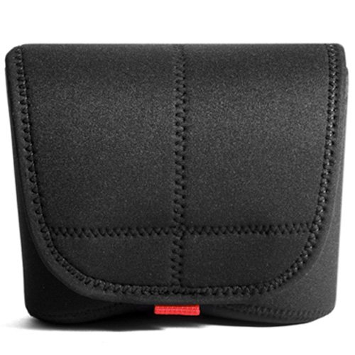 Matin Digital SLR Camera Body Comapct Neoprene Case Cover Pouch Bag Black Large ()