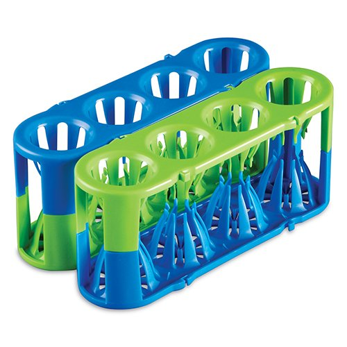 Heathrow HS120184 Adapt-A-Rack, Blue/Green Combo (Pack of 2) by Heathrow Scienitific